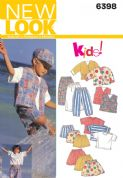 6398 New Look Pattern: Child's Separates